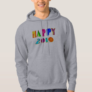 happy 2010 Happpy 2010 HAPPPPY 2010 gifts Hoodie
