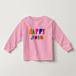 happy 2010 Happpy 2010 HAPPPPY 2010 gifts Toddler T-shirt