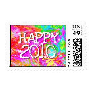 Happy 2010 postage