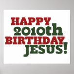 Happy 2010th Birthday Jesus Poster