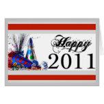 Happy 2011 greeting card