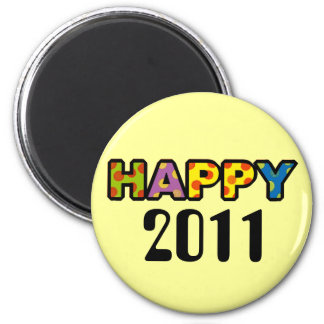 Happy 2011 magnets