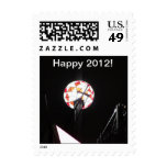 Happy 2012 crystal ball stamp