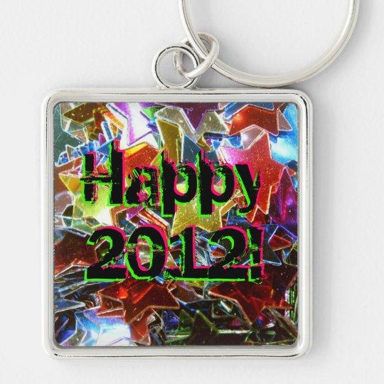 Happy 2012! keychain