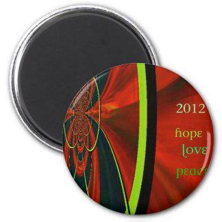 Happy 2012 fridge magnets