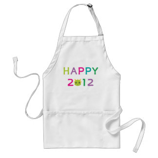 Happy 2012 the Year of the Dragon Aprons