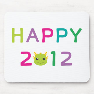 Happy 2012, the Year of the Dragon! Mouse Pad