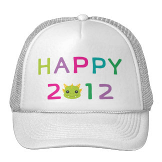 Happy 2012, the Year of the Dragon! Trucker Hat