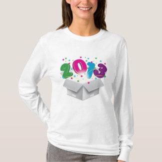 Happy 2013 bursting open box T-Shirt