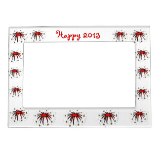 Happy 2013 Customizable Magnetic Frame