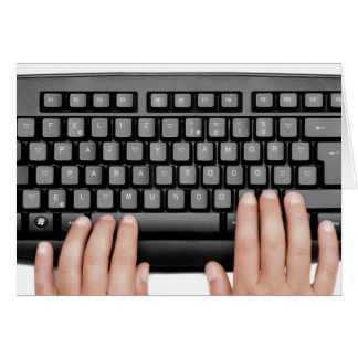 Happy 2014 keyboard messageFeliz 2014 paz y amor Felicitaciones