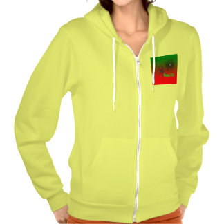 Happy 2015 green hoodies