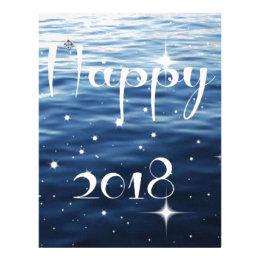 Happy 2018 letterhead