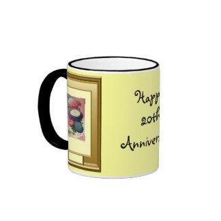 Happy 20th Anniversary Mugs
