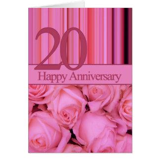 Happy 20th Anniversary roses