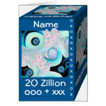 Happy 20th Birthday - 20 Zillion Hugs & Kisses Greeting Card