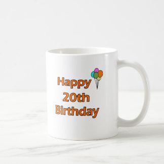 Happy 20th Birthday Coffee Mug