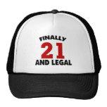 Happy 21 Birthday Trucker Hat