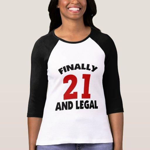 Happy 21 Birthday Tshirts
