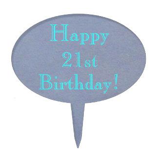 Happy 21st Birthday! Cake Pick