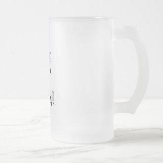 """Happy""""21st""""Birthday!-Frosted Mug"""