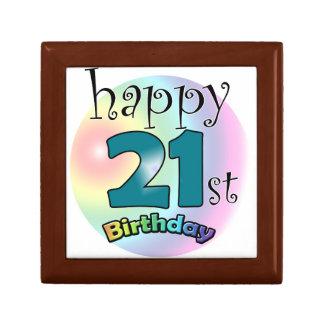 Happy 21st Birthday Jewelry Box