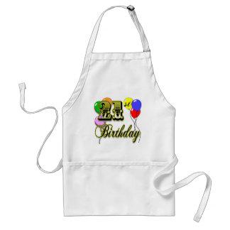 Happy 21st Birthday Merchandise Adult Apron