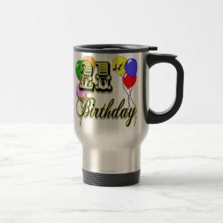 Happy 21st Birthday Merchandise Travel Mug
