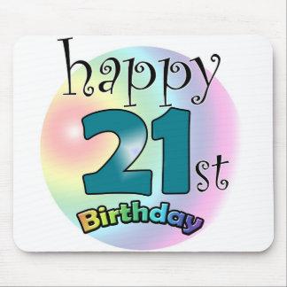 Happy 21st birthday mouse pad