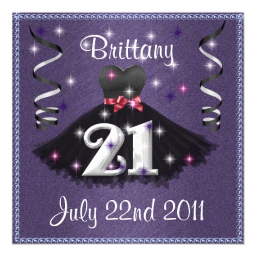 Birthday Invitations 21St as awesome invitation sample