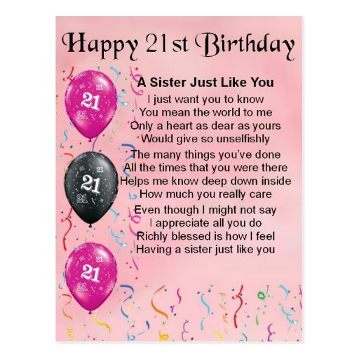 Birthday Quotes For Brother Turning 21 : Birthday poems for my daughter turning just b use