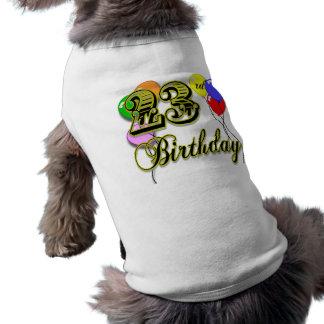 Happy 23rd Birthday Merchandise Tee