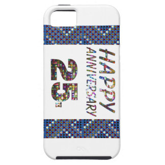 Happy 25 25th Anniversary gifts iPhone SE/5/5s Case