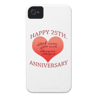Happy 25th Anniversary Case-Mate iPhone 4 Case