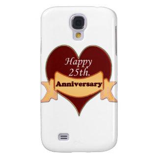 Happy 25th. Anniversary Galaxy S4 Cover