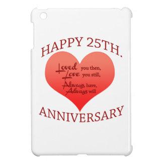 Happy 25th Anniversary iPad Mini Cover