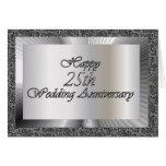 Happy 25th Wedding Anniversary Greeting Cards