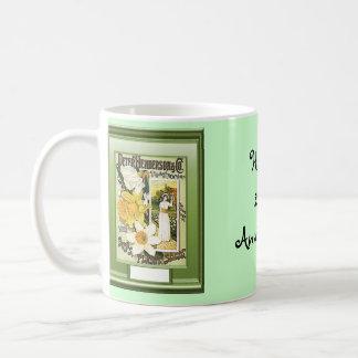 Happy 26th Anniversary  Daffodils Coffee Mugs