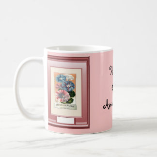 Happy 27th Anniversary  Canterbury bells Coffee Mug