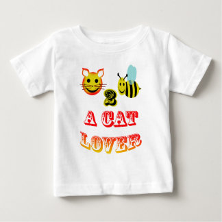 happy 2 bee a cat lover baby T-Shirt