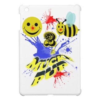 happy 2 bee a mucky pup iPad mini cases