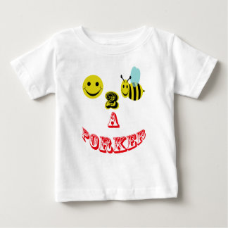 happy 2 bee a porker. baby T-Shirt
