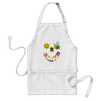 happy 2 bee alive apron
