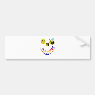 happy 2 bee alive bumper sticker