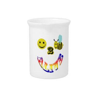 happy 2 bee alive beverage pitcher