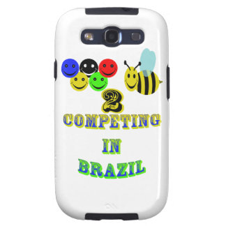 happy 2 bee competing in brazil samsung galaxy SIII covers