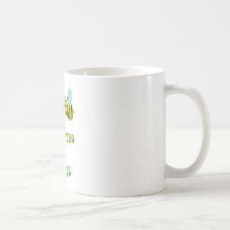 happy 2 bee competing in brazil coffee mug
