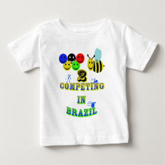 happy 2 bee competing in brazil cotestants baby T-Shirt