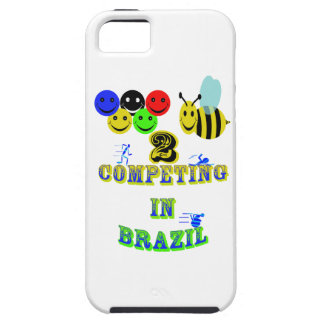 happy 2 bee competing in brazil cotestants iPhone 5 covers