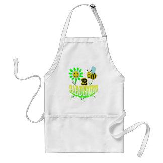 Happy 2 bee Gardening Adult Apron